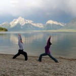 I love Teaching and Doing Yoga. Can't imagine my life without yoga (Tetons)