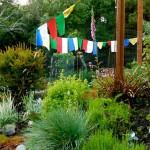 Prayer Flags and Garden