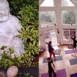 Smiling Buddha and Yoga