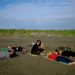 Summer: Savasana at the Beach