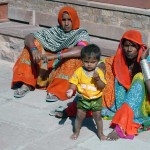 Rajasthani Women and Child