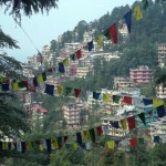 Prayer flags in Dharamsala