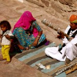 Rajasthani Musician and Family
