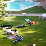 Shavasana and Pool