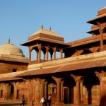 Fatepur Sikri: built by Akbar the Great in 1571