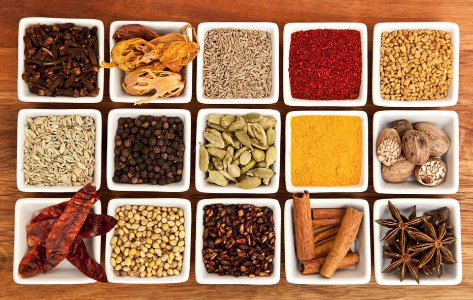 The Colorful Spices of South India